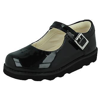 Dívky Clarks vyjmout detailní obuv koruna skok