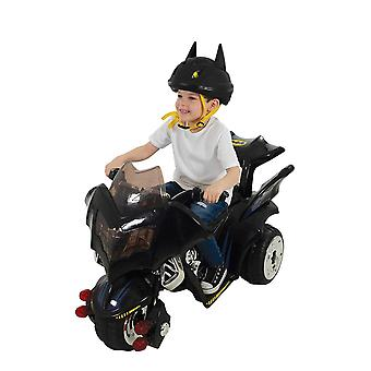 Batman 6V Electric Ride On Bat Trike Black MV Sports Ages 3 ans