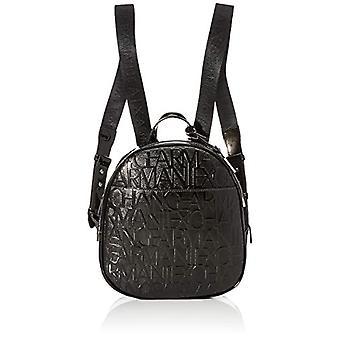 ARMANI EXCHANGE 942649CC794 Black Women's Backpack (BLACK (BLACK - BLACK 00020)) 8x26x28 cm (B x H x T)