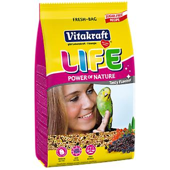 Vitakraft Menu Life pour Perruches 800 gr avec Vitamines (Oiseaux , Nourritures)