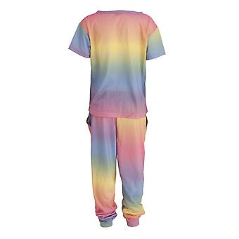 Foxbury Childrens/Kids Rainbow Pyjama Set