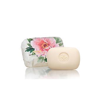 Saponificio Artigianale Fiorentino Handgemaakte Zeep - Pioen - Delicate florale geur verpakt in wraps 200g