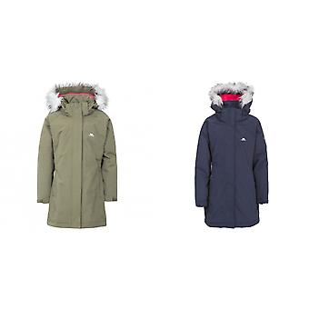 Trespass Childrens Girls Fame Waterproof Parka Jacket
