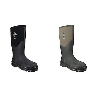 Muck Boots Unisex Chore Classic Hi Steel Safety Wellington Boots