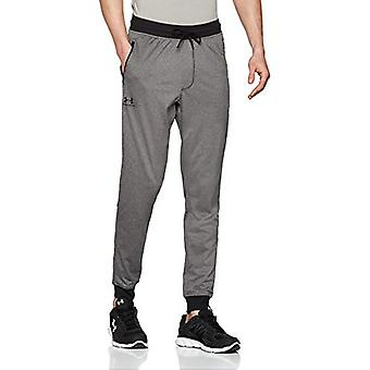 Under Armour Men-apos;s Sportstyle Tricot Joggers, Carbon Heather (090)/Black, Large