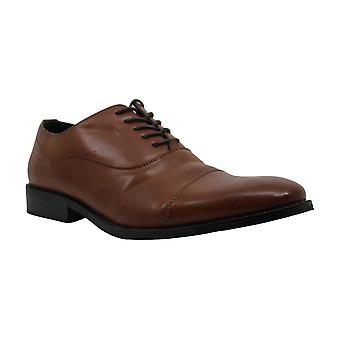 Unlisted by Kenneth Cole Mens Leather Lace Up Dress Oxfords