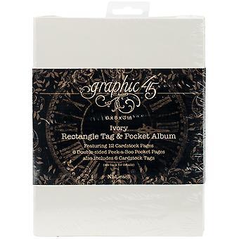 Graphic 45 Staples Tag & Pocket Album 6