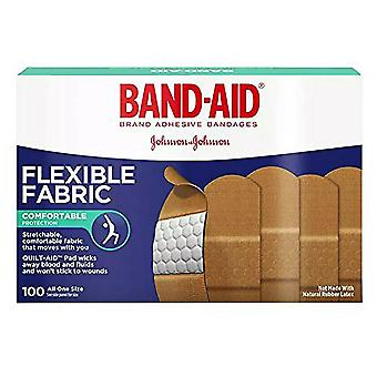 Band-aid flexible fabric bandages, 3/4 inch x 3 inch, 8 ea