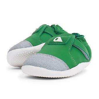 Bobux step-up xplorer emerald green pre-walker shoes