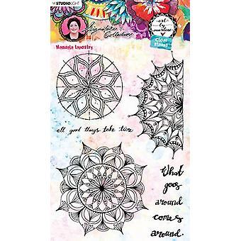 Studio Light Art By Marlene 5.0 Clear Stamps-NR. 48