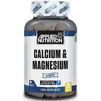Applied Nutrition Calcium & Magnesium 90 Tablets