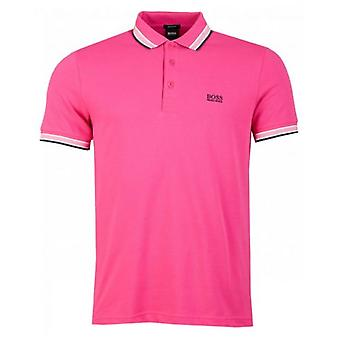 BOSS Paddy Short Sleeved Tipped Polo