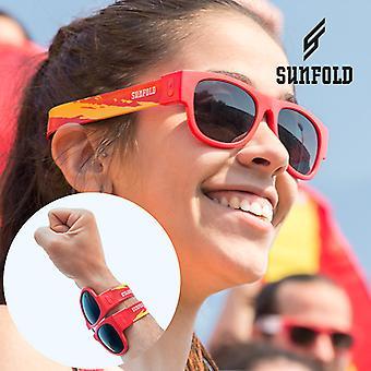 Red Sunfold Espanha Roll-Up Óculos de sol