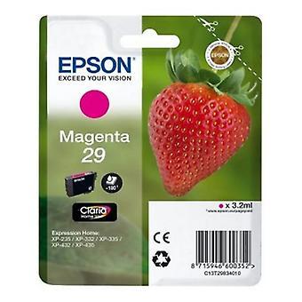 Original cartucho de tinta Epson C13T298340 Magenta