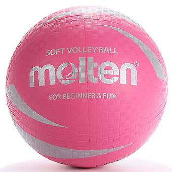 Gesmolten SV2P Indoor Outdoor Non-Sting Latex Volleybal Bal Roze - Maat 5