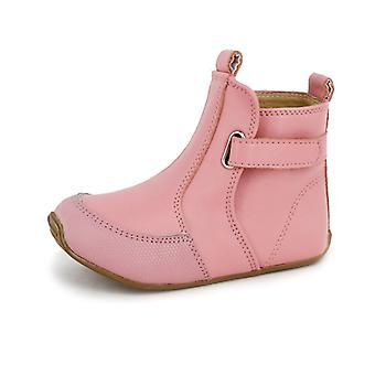 SKEANIE Toddler and Kids Leather Cambridge Boots in Pink