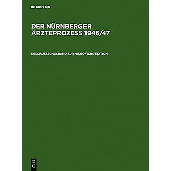 Erschlieungsband zur MikroficheEdition by De Gruyter Verlag