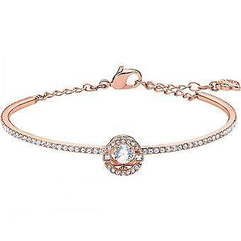 Swarovski Sparkling Dance Rose Gold Tone Plated & Clear Crystal Bangle
