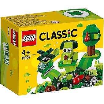 Lego 11007 Klassiska Kreativa gröna klossar