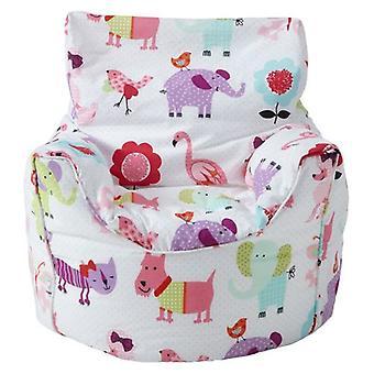 Verkeersborden Print Children's Ready Filled Fun Bean Bag Chair Seat Kids Peuter meubelen