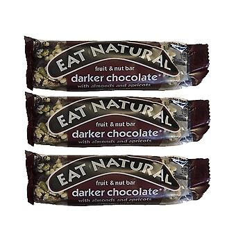 12 x Fruit Nut Bars 45g Darker Chocolate Nutritious Healthy Food Snack Natural