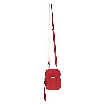 Bolso Baggallini bolso ajustable correa de hombro RFID protección ladrillo rojo