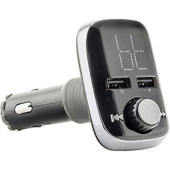 Caliber Audio Technology PMT560BT FM transmitter incl. hands-free, Built-in MP3 player, incl. remote control, incl. card slot