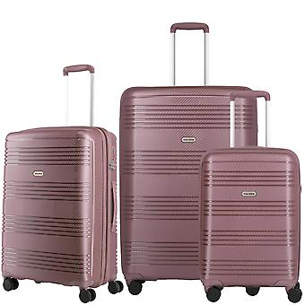 travelite Zenit Kuffert Set 3-delt S-M-L, Pink