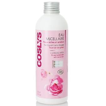 Coslys Micellar Cleansing Water Dry & Sensitive Skin With Roses 200 ml