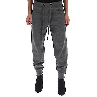 -apos;S Max Mara 93360193000095002 Femmes-apos;s Grey Cotton Joggers
