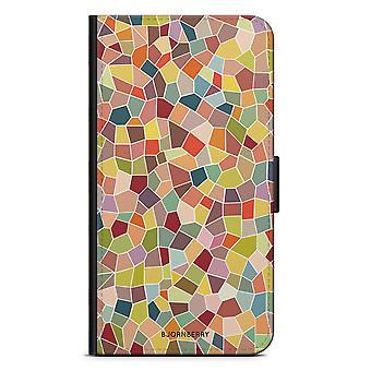 Bjornberry Wallet Case iPhone 5/5s/SE - Mosaic