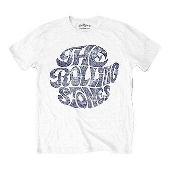 Men's The Rolling Stones Vintage 70's Logo White T-Shirt