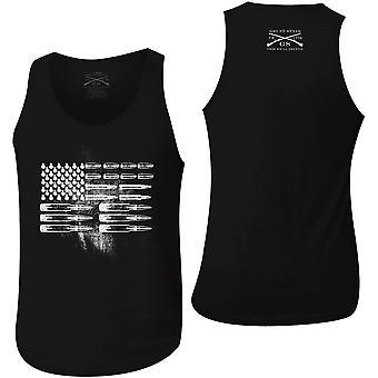 Grunt Style Ammo Flag Tank Top - Black
