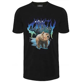 Marcelo Burlon zwarte beer T-shirt