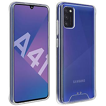 Protective Case Samsung Galaxy A41 Shockproof Bumper Crystal Collection Clear