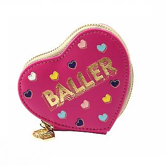 Sweet Tooth Womens/Ladies Baller Heart Purse