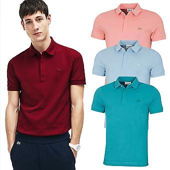 Lacoste Mens 2020 Paris Stretch Cotton Blend Pique Polo Shirt
