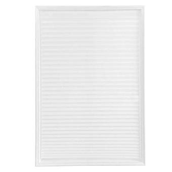 Self Adhesive Pleated Blinds Curtains - Half Blackout Windows For Bathroom Balcony Shades