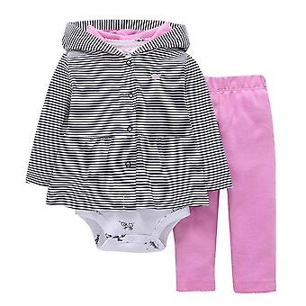 Baby Jacket, Bodysuit And Pants Outfit , Design 1