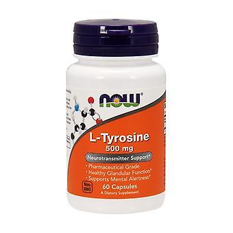 L-Tyrosine 500 mg 60 capsules