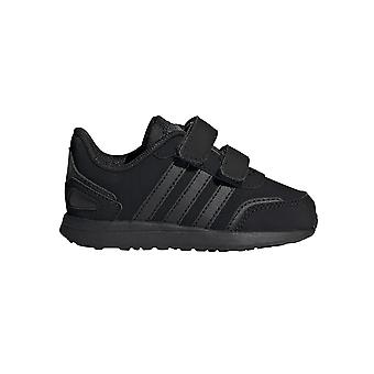 adidas VS Switch 3 Infant Kids Strap Sports Trainer Shoe Black