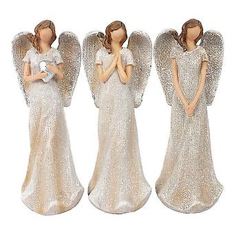 Etwas anderes Trio von kleinen Glitzer Engel Ornament