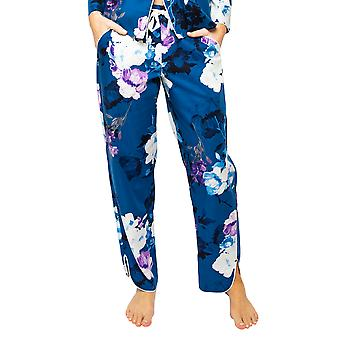 Cyberjammies Eliza 4539 Women's Blue Mix Floral Baskı Pijama Pantolonu