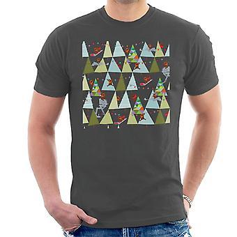 Star Wars Christmas Ewok trær menn ' s T-skjorte