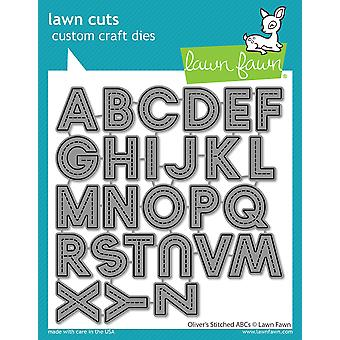 Lawn Fawn Oliver-apos;s Stitched ABC Dies