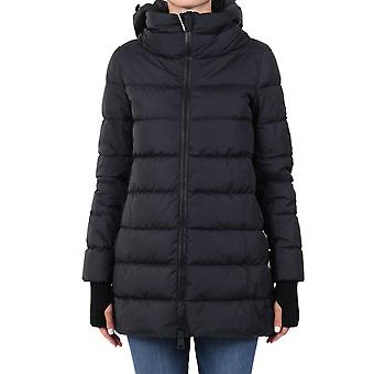 Herno Pi0660d120049389 Dames's Zwart Nylon Down Jacket