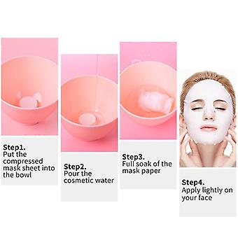 Compressed Face Mask Paper - Disposable Facial Dry Masks Skin Care