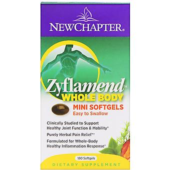 New Chapter, Zyflamend, Whole Body, 180 Mini Softgels