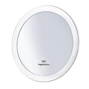 Förstoringsglas Makeup Spegel Med 3 Sugkoppar Make Up Pocket kosmetiska spegel,