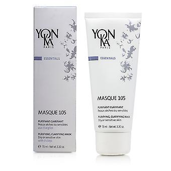 Essentials masque 105 renande klargörande mask (torr eller känslig hud) 152985 75ml/3.3oz